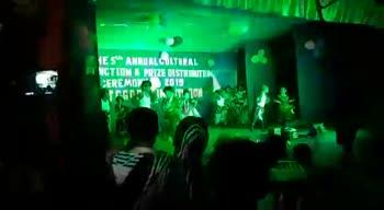 🎤নাচ ও গান - HIS ANNUALCOLTURAL NCTION E PRIZE DISTNUT GEREMUX 2019 - ShareChat