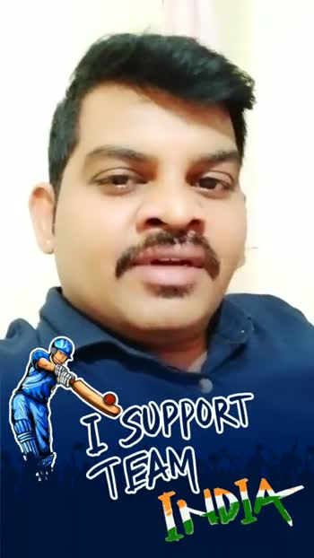 🏆సెమిఫైనల్ 1(IND vs NZ) - I SUPPORT I SUPPORT - ShareChat