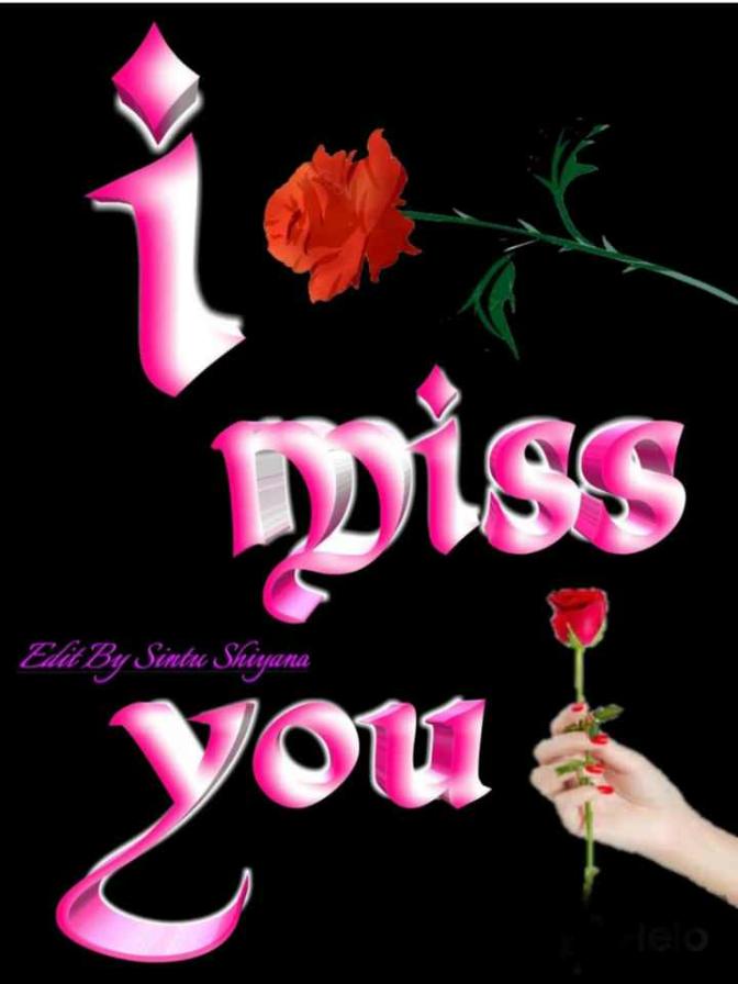 ❤ Miss you😔 - miss Edit By Sintu Shiyana you - ShareChat