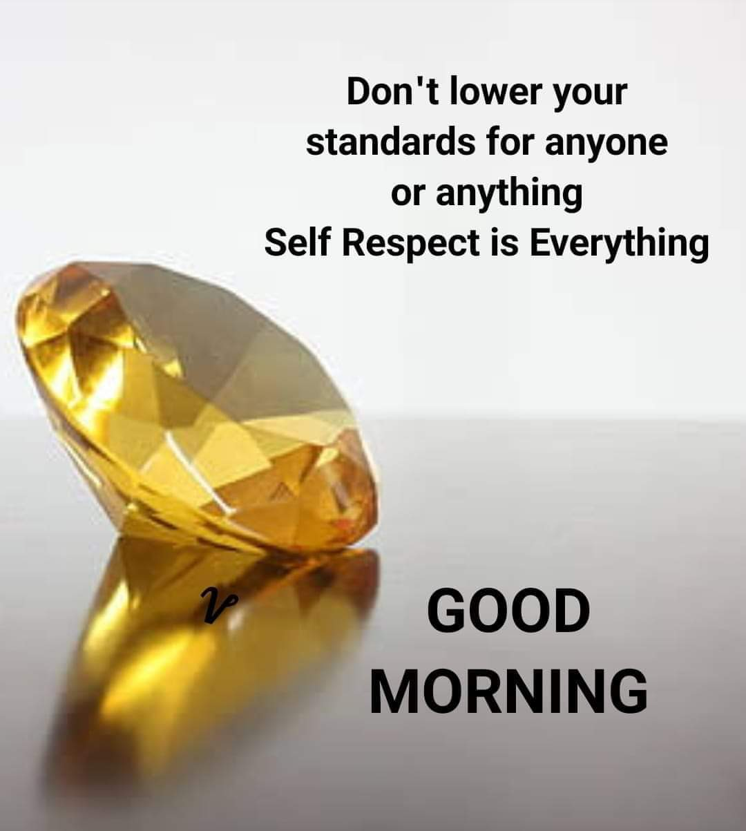🌞 Good Morning🌞 - Don ' t lower your standards for anyone or anything Self Respect is Everything GOOD MORNING - ShareChat