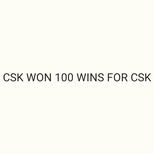 🏏CSK vs DC Qualifier-2🔥 - CSK WON 100 WINS FOR CSK - ShareChat