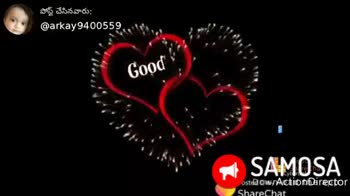 good night gif - పోస్ట్ చేసినవారు : @ arkay9400559 Good Dreaffis Night Sweet SAMOSA osted owAction Director ShareChat arkaG559 ఇదిలో మనం SAMOSA Download the app - ShareChat