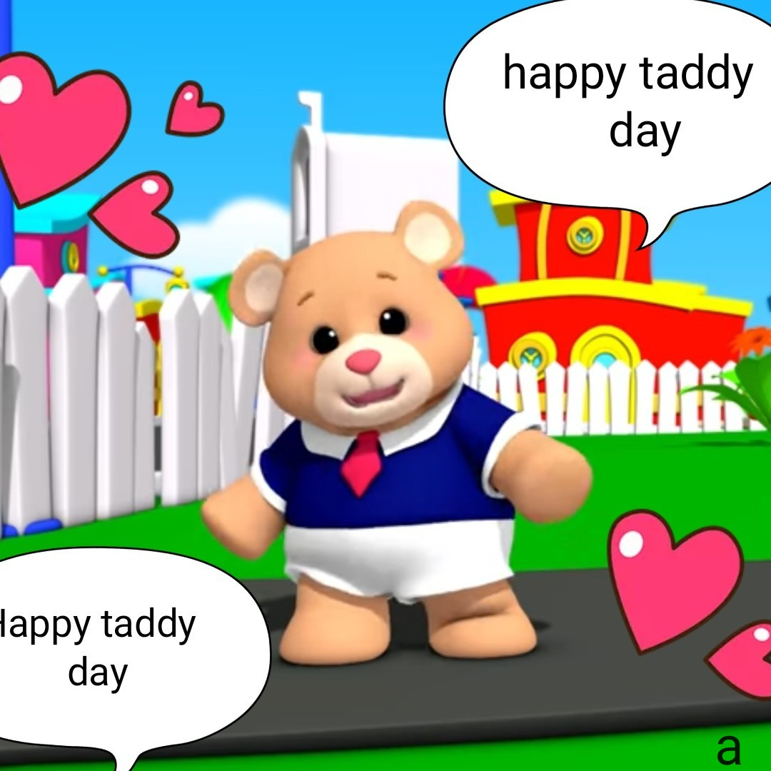 সুভ সকাল - happy taddy day Happy taddy day - ShareChat
