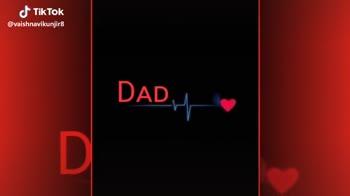 💕dad love 💕 - @ vaishnavikunjir8 DAD , @ vaishnavikunjir8 - ShareChat