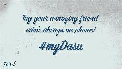 కొత్త సినిమా గురూ!🎬 - EMAYA4THнном на Tag your annoying friend who ' s always on phone ! # mbαι న / స్ - ShareChat