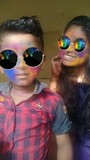 ഹോളി ഫിൽറ്റർ ചലഞ്ച് - ShareChat