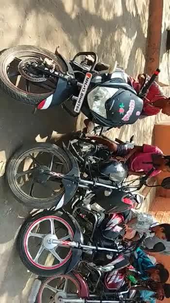 🛵बाईक डे - SMAR 5715 thane di Bhakti MIJ HUN T30 - ShareChat