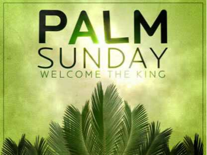 ⛪ Holy Jesus - PALM SUNDAY WELCOME THE KING - ShareChat