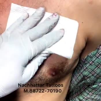 🕊 ਟੈਟੂ - Nachhattar Tattoos M . 88722 - 70190 Harjit Nachhattar Tattoos M . 88722 - 70190 InShot - ShareChat