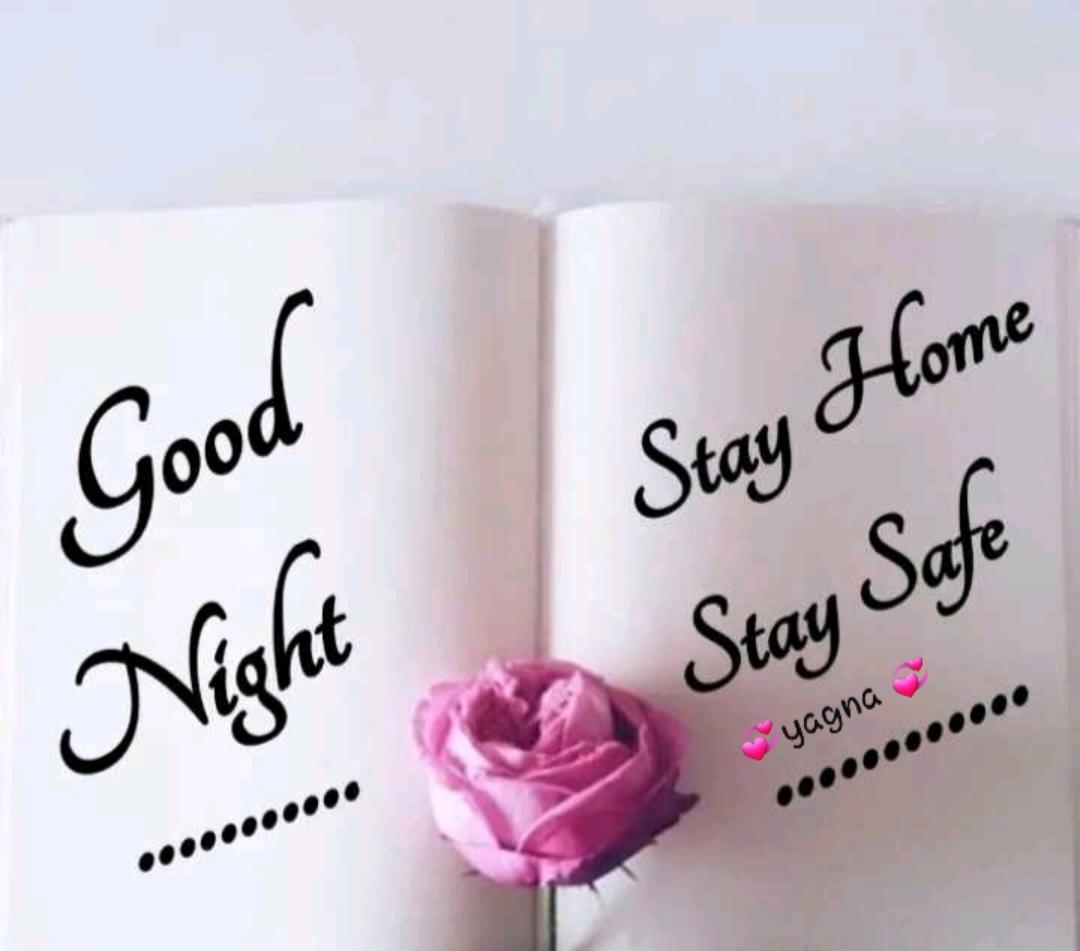 🌙 શુભ રાત્રી - Stay Home Stay Safe Night - yagna . . . . . . . . . . . - ShareChat