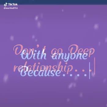 ✍షార్ట్ కోట్ వీడియోస్ - @ keerthu0711 With anyone Because . . . . When they Leave . . JTik Tok keerthu0711 - ShareChat