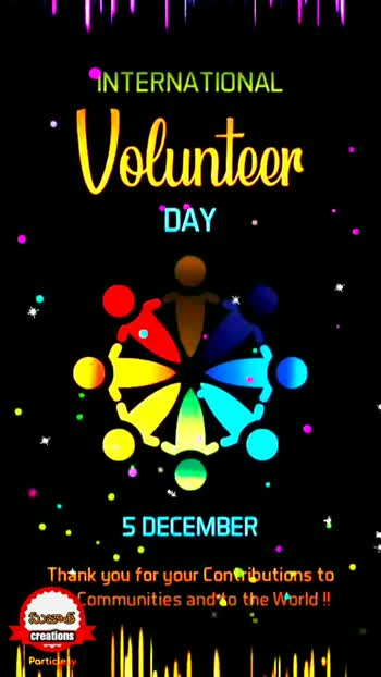 international volunteer day - ShareChat