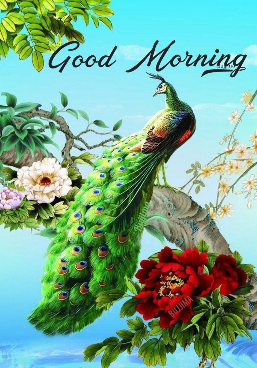 🖼 आर्ट और पेंटिंग्स - Good Morning Bujuma BWJIMA - ShareChat