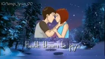 🎧 Short video song - IG / Songs lyrics _ 00 Teri piche piche IG / Songs _ lyrics _ 00 USS ore main bhaagun re - ShareChat