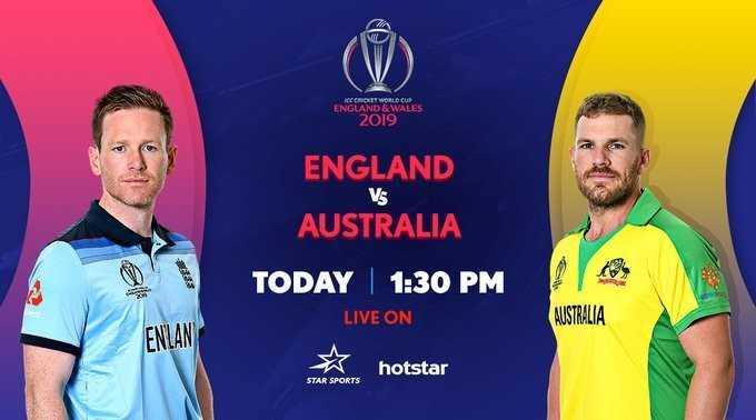🏆 2019 WC கிரிக்கெட் - CHOW WALES ENGLAND & WALE 2019 Vs ENGLAND AUSTRALIA TODAY | 1 : 30 PM LIVE ON hotstar AUSTRALIA ENLAN STAR SPORTS - ShareChat