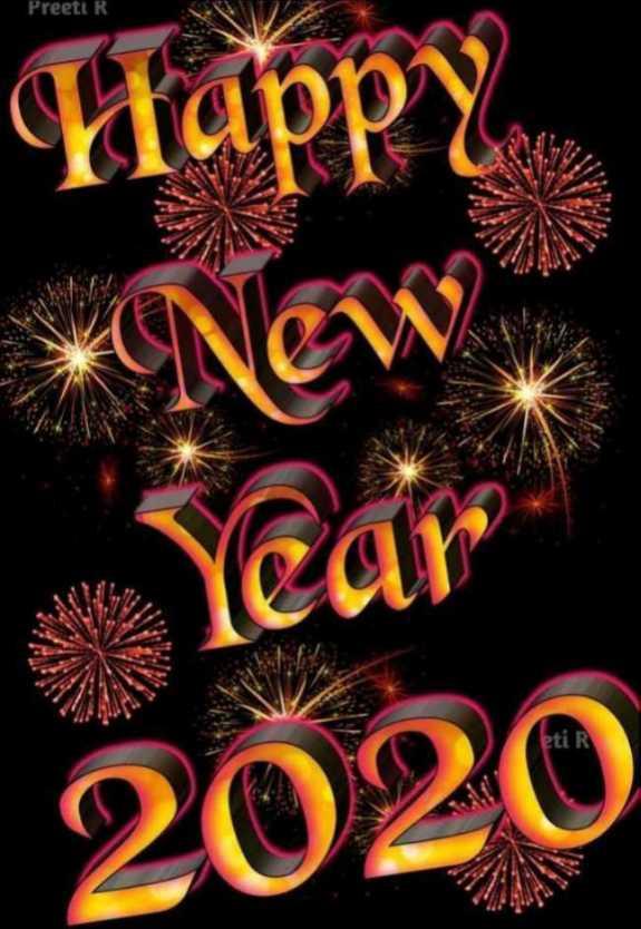 📅2020 का पहला दिन🎉 - Preeti Happy Year . 2029 - ShareChat
