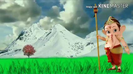 જય શ્રી ગણેશ - Made with KINEMASTER - ShareChat