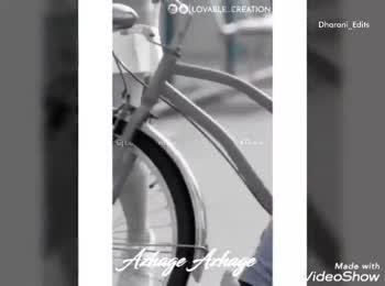 காதலன் காதலி - @ @ LOVABLE CREATION Dharani _ Edits Gl Lovable . . creation # Thark Azhage Azhage Made with VideoShow O @ LOVABLE CREATION IG Lovable creation Azhage Azhage Made with Video Show - ShareChat