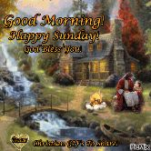 happy sunday guys🙋🙋 - Good Morning ! Happy Sunday ! God Bless You ! Deanne Christian GIF ' S TO Share ! PicMix - ShareChat