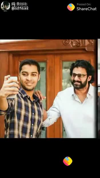 💕 prabha....💕 - 884943725 Posted On : ShareChat Posted On ShareChat ShareChat Honey 51643725 Love you so much darling prabhas bangram Follow - ShareChat