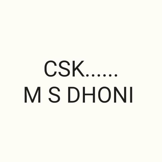 💛 CSK vs SRH 🔶 - CSK . MS DHONI - ShareChat