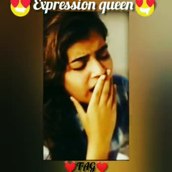 👰நடிகைகள் - Expression queen TAG Expression queen TAG - ShareChat