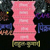[RAHUL-Raj] - Author on ShareChat: Funny, Romantic, Videos, Shayaris, Quotes