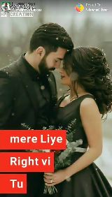 romantic song - vastaus Posted On : ShareChat HCREATION mere Liye Right vi Tu - ShareChat