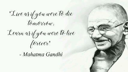 महात्मा गांधी स्मृतिदिन - The weak can never forgive . Forgiveness is the attribute of the strong . - Mahatma Gandhi - ShareChat