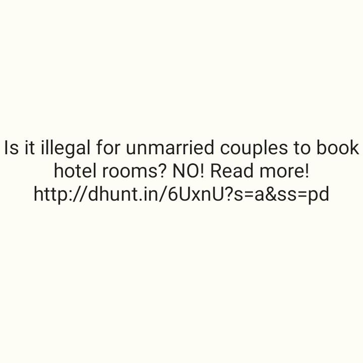 শুভ জন্মদিন গ্রেট খালি 🥊 - Is it illegal for unmarried couples to book hotel rooms ? NO ! Read more ! http : / / dhunt . in / 6UxnU ? s = a & ss = pd - ShareChat