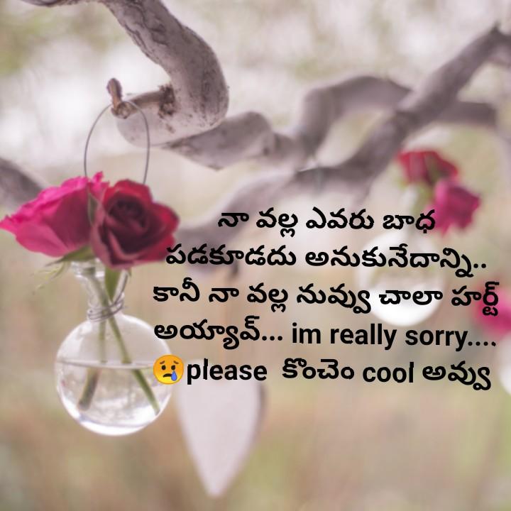 sorry ra sorry sorry sorry sorry sorry sorry sorry sorry sorry sorry sorry sorry sorry sorry sorry sorry sorry sorry sorry sorry sorry sorry sorry sorry sorry sorry sorry sorry sorry sorry sorry sorry sorry sorry sorry sorry sorry sorry ra - నా వల్ల ఎవరు బాధ పడకూడదు అనుకునేదాన్ని . . కానీ నా వల్ల నువ్వు చాలా హర్ట్ అయ్యా వ్ . . . im really sorry . . . please కొంచెం cool అవ్వు - ShareChat