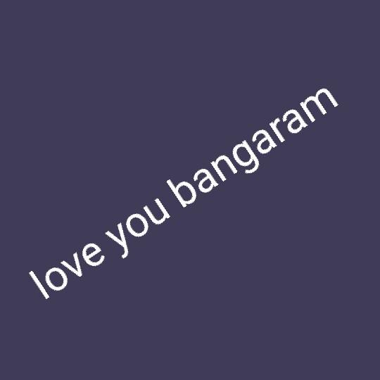 bangaram - love you bangaram - ShareChat