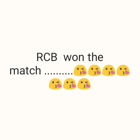 KXIP vs SRH - RCB won the match . . . . . . . . . . 666 - ShareChat