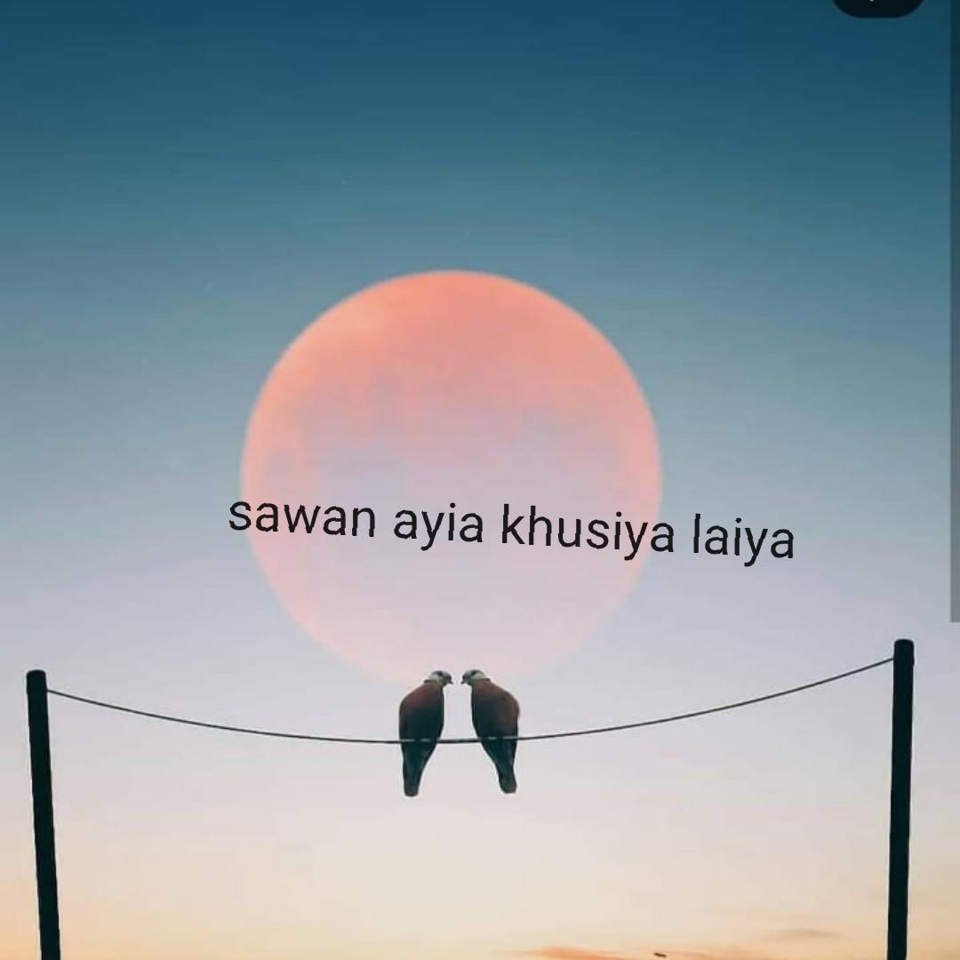 🎆  त्यौहार - sawan ayia khusiya laiya - ShareChat