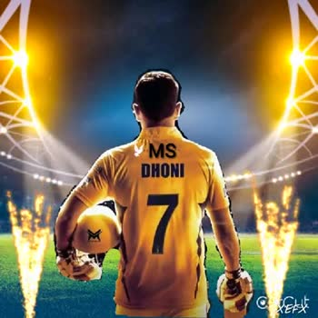 CSK vs RR - YMS DHONI . MS DHONI - ShareChat