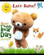 🧸 টেডি ডে - Let ' s Dantoret Happy Teddy Bear Day @ shilpa - ShareChat