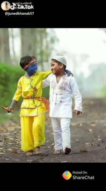🇮🇳  വർഗീയത_തുലയട്ടെ - പോസ്റ്റ് ചെയ്തത് . @ thwlha523 जिस दिन अंतर मिट जाएगा . . . पूजा और अज़ान में name _ less _ 101 उस दिन सच्चा स्वर्ग बनेगा . . . . अपने हिंदुस्तान में . . . . Posted On : Shape Ghettok @ junedkhanak57 ShareChat SAJNA SUFAIRA thwlha523 6100 Mod 0 . . Follow - ShareChat