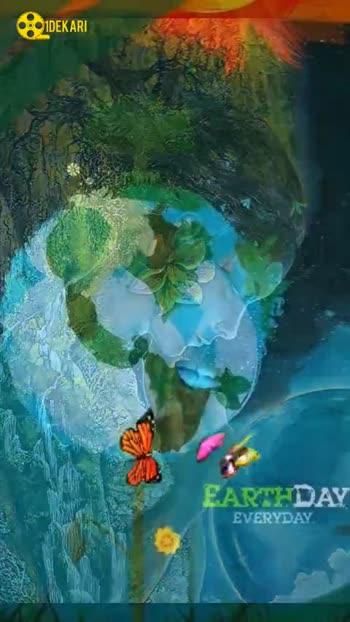 ప్రపంచ దరిత్రి దినోత్సవం - QIDEKARI GREEN BLACK IS THE NEW = > HAPPY EARTH DAY APRIL 22ND - ShareChat