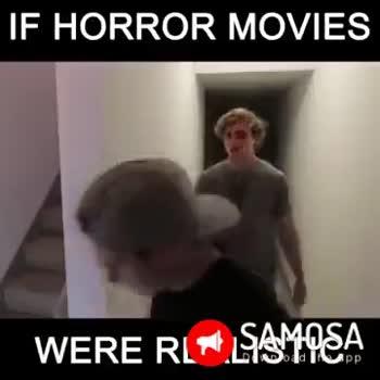 memorable movie - IF HORROR MOVIES WERE RLT LSSMOSA IF HORROR MOVIES WERE RLT LSSMOSA - ShareChat
