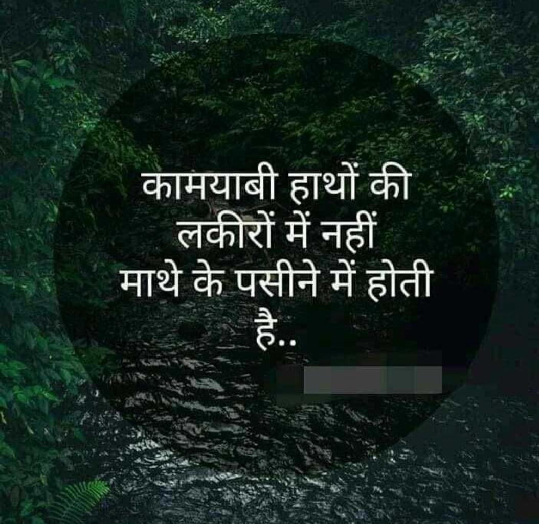 nimisha patel - कामयाबी हाथों की लकीरों में नहीं । माथे के पसीने में होती - ShareChat