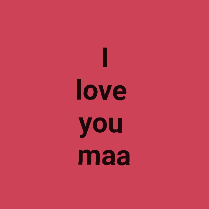 me - love you maa - ShareChat