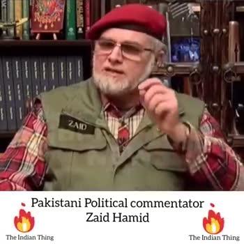 🛩 ਬਡਗਾਮ ਵਿੱਚ ਮਿਗ ਜਹਾਜ ਕਰੈਸ਼ - ZAID Pakistani Political commentator Zaid Hamid The Indian Thing The Indian Thing Pakistani Political commentator Zaid Hamid The Indian Thing The Indian Thing - ShareChat