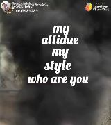 #my attitude - ShareChat