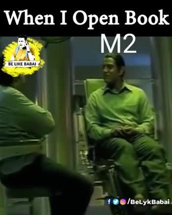 b.tech  జోక్స్ - When I Open Book M2 BE LIKE BABAI 3 fo @ / BeLykBabai When I Open Book M2 BE LIKE BABAI fo @ / BelykBabai - ShareChat