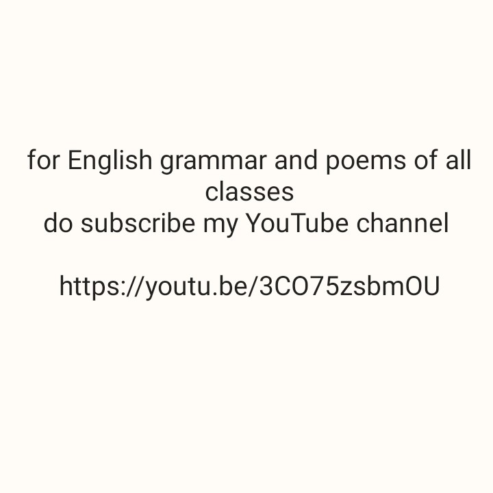 खरीदें और बेचें - for English grammar and poems of all classes do subscribe my YouTube channel https : / / youtu . be / 3C075zsbmou - ShareChat