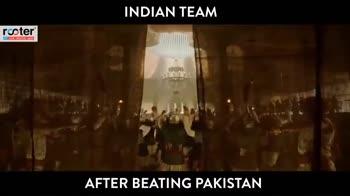 ఇండియా గెలుపు - INDIAN TEAM roster 1 live sports AFTER BEATING PAKISTAN INDIAN TEAM rester live sports AFTER BEATING PAKISTAN - ShareChat