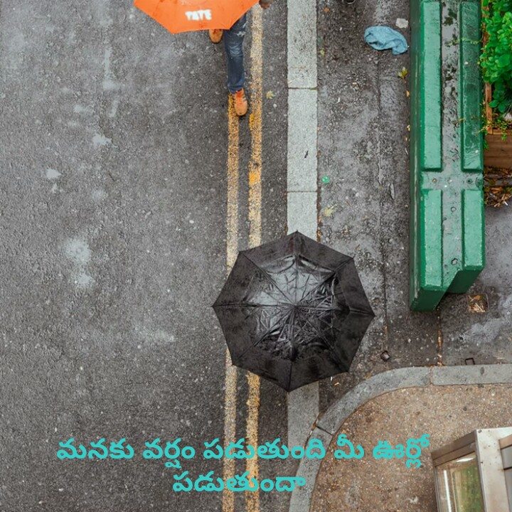 waiting  for rain!!👩☔ - TAT మనకు వర్షం పడుతుంది మీ పడుతుంది - ShareChat