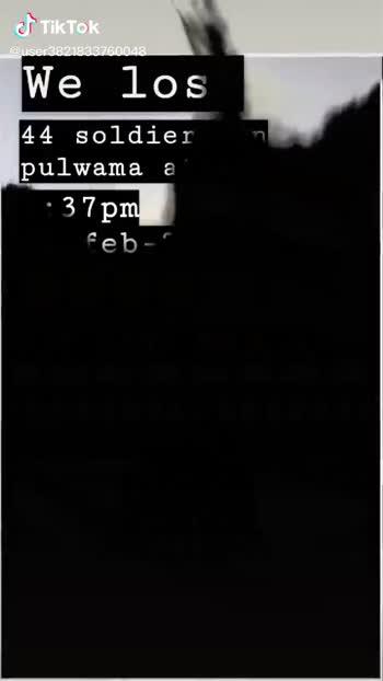 💐 ਪੁਲਵਾਮਾ ਹਮਲੇ ਨੂੰ 1 ਸਾਲ - ShareChat