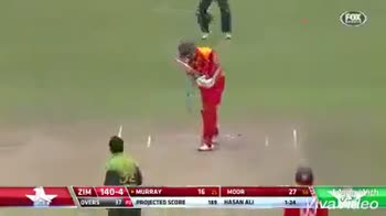 😁वर्ल्ड कप जोक्स - ZIM 140 - 5 OVERS ZIMBABWE V PAKISTAN GOISERIES 2018 MATCH PROJECTED SCORE HASAN AL 12 ya leo PAKSA Made With VivaVideo - ShareChat