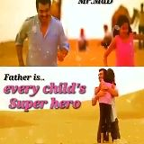 fathers day - Mr . Mad Father is . . the one who sacrifices everything for the happiness of his child . . - ShareChat